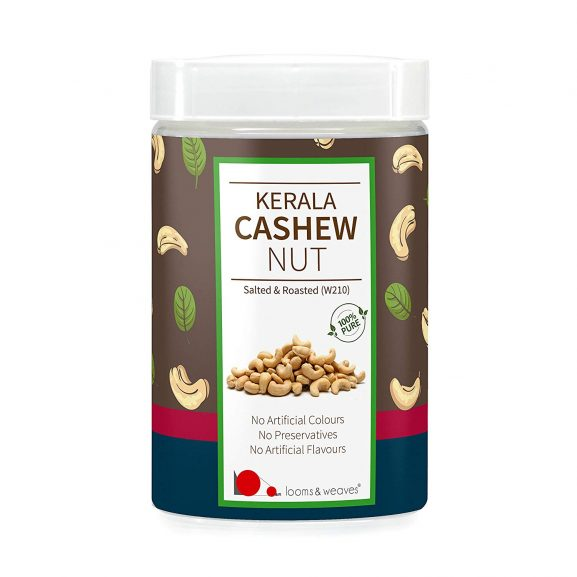 Looms And Weaves- Premium Quality Non-Roasted Cashews