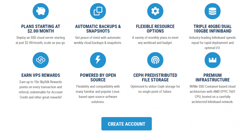 Features of SkySilk