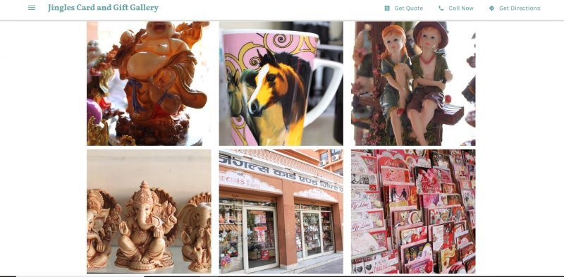 jingles card and gift gallery jaipur