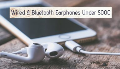 Wired & Bluetooth Earphones Under 5000