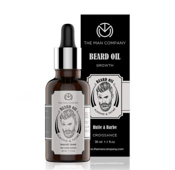The Man Company Beard Hair Growth Oil