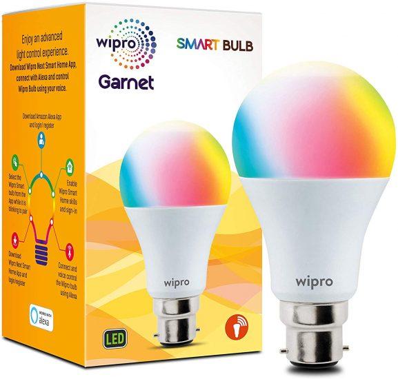 Wipro Smart LED Bulb B22 9W