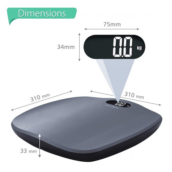 HealthSense Body Weight Scale