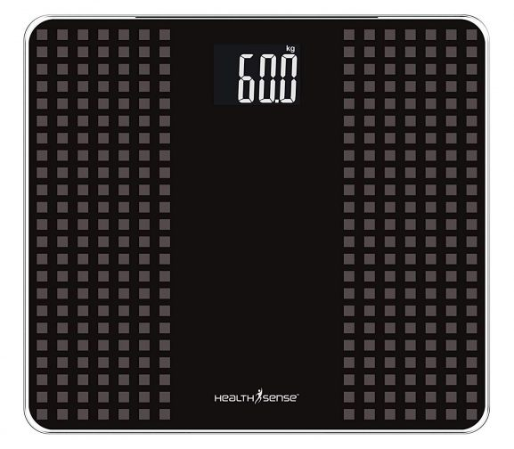 HealthSense Glass Weighing Scale