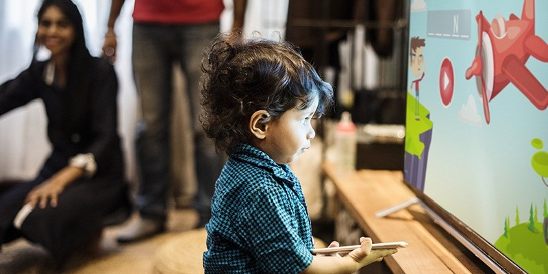 Smart TV Apps Help your Child Learn Better