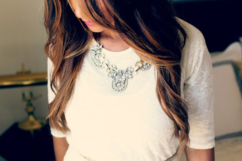 Necklace for flowergirls