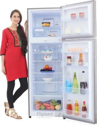 Haier 347 L Refrigerator (Brushline Silver)