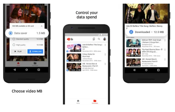 YouTube Go youtube video downloading app