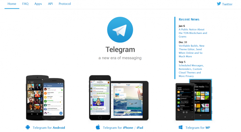 telegram social networking site