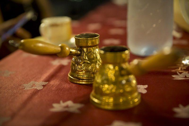 Coffee and Arabic Coffee Pot