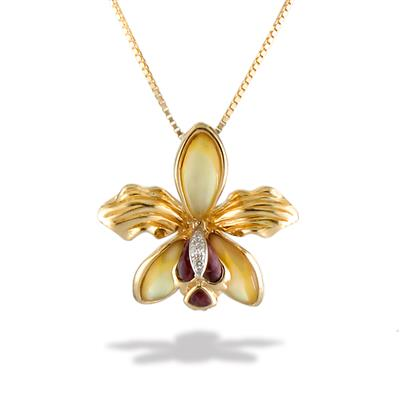 Gold Plated Orchid