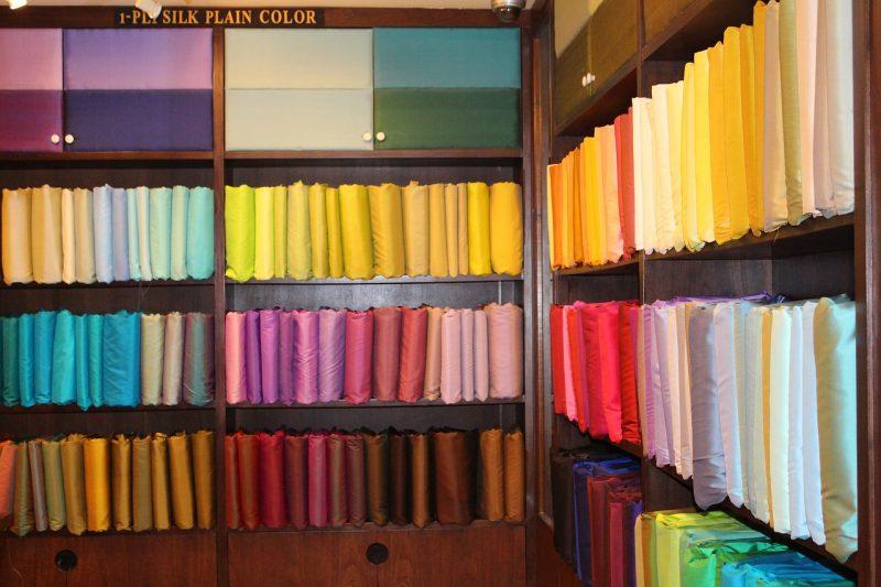 Thai Silk (things to buy in bangkok)