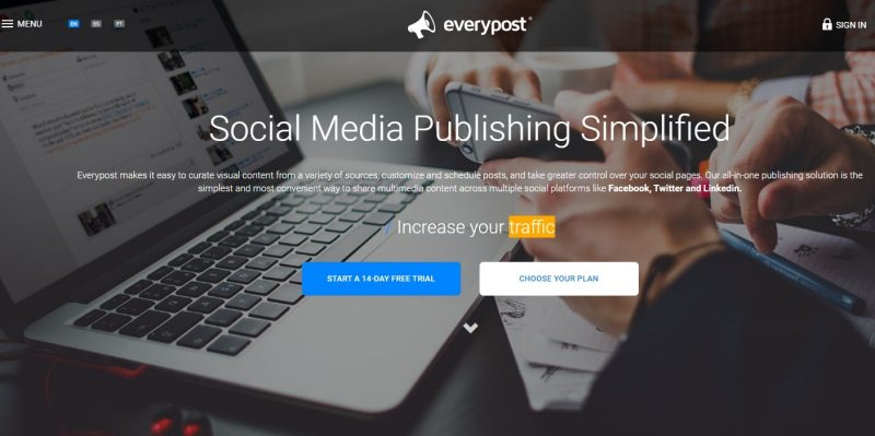 everypost social media scheduling tool