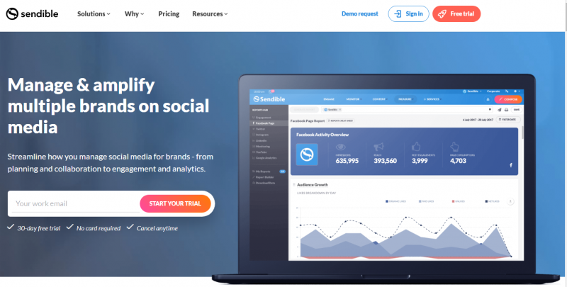sendible social media scheduling tool