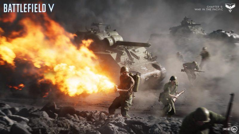Battlefield V: Firestorm (games like apex legends)