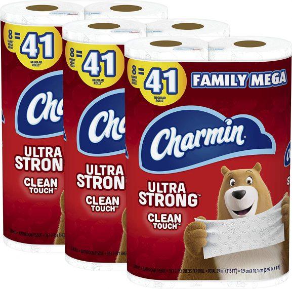 CHARMIN ULTRA STRONGtoilet paper (best toilet paper)