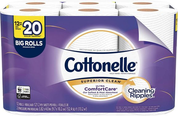 COTTONELLE SUPERIOR CLEAN toilet paper (best toilet paper in the world)