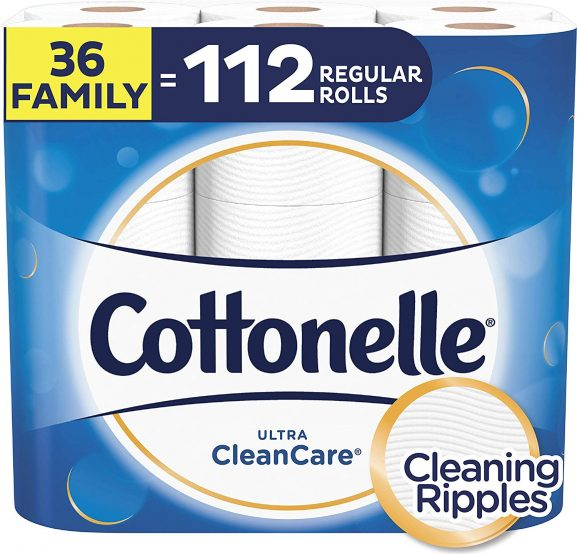 COTTONELLE ULTRA CLEAN CARE toilet paper (best toilet paper in the world)