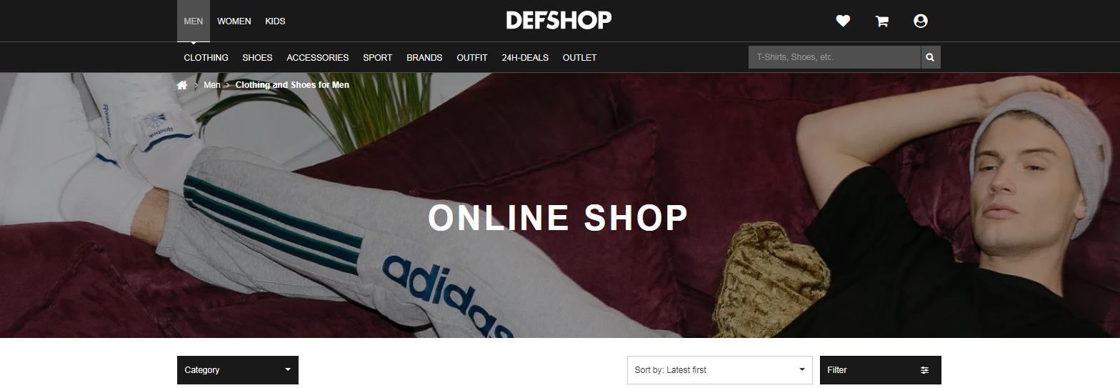 Def-Shop: Sites Like Asos