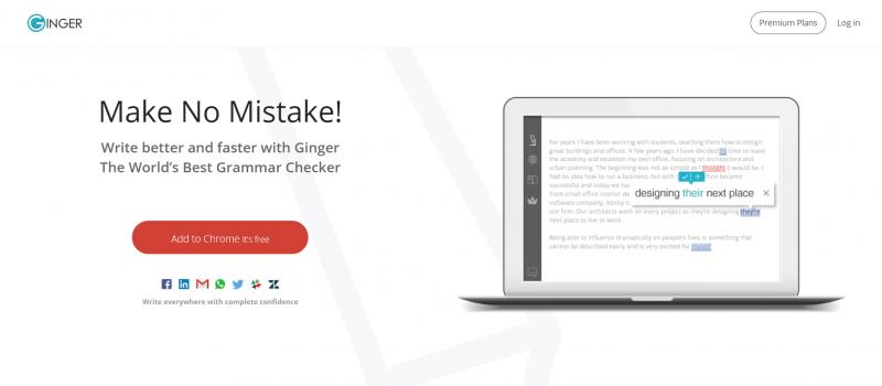 Ginger Keyboard: Grammarly alternatives