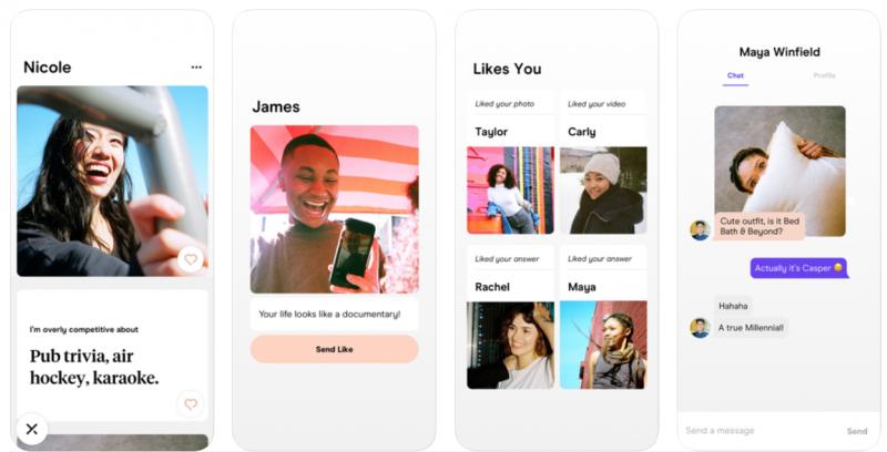 Hinge dating app similar to tinder