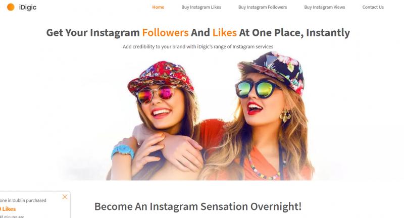 IDigic.net buy instagram likes