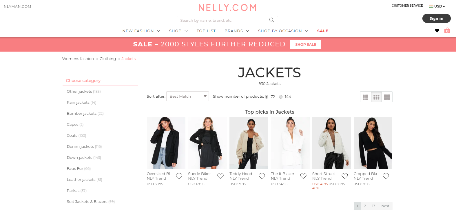 Nelly: Sites Like Asos