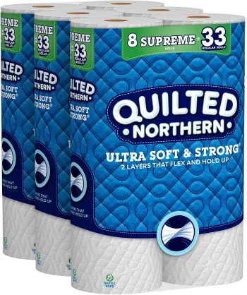 QUILTED NORTHERN toilet paper (best toilet paper in the world)
