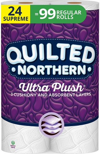 QUILTED NORTHERN ULTRA PLUSH tissue (best toilet paper in the world)