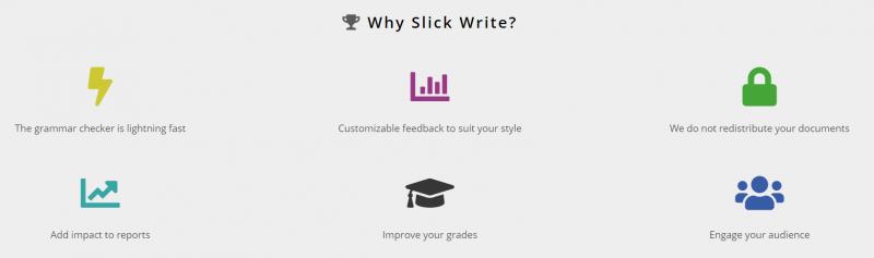 Slick Write- grammarly alternative
