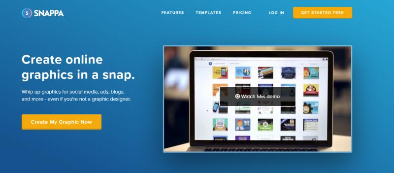 Snappa site like canva