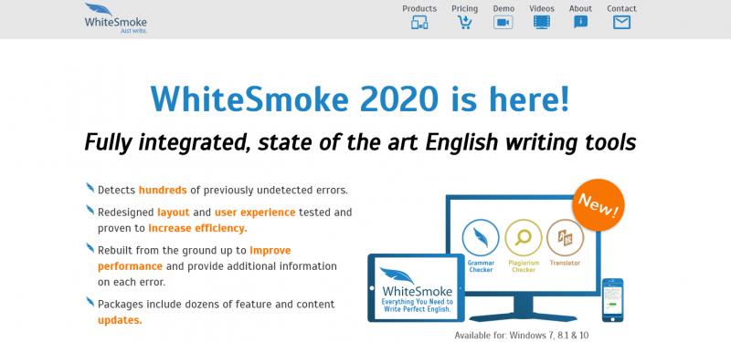 Whitesmoke: Grammarly alternatives