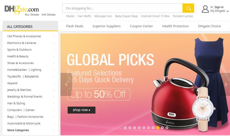 Wholesale site like wish