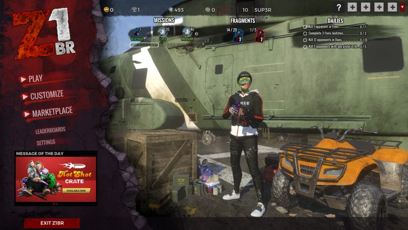 Z1 Battle Royale (games like apex legends)