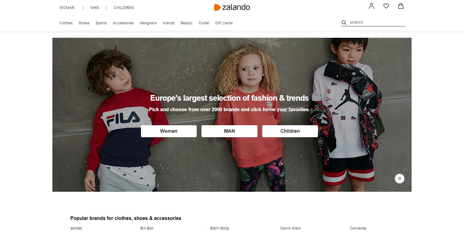 Zalando SE: Sites Like Asos
