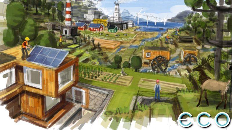 Eco Best Game Like Minecraft
