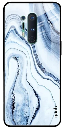 Frozen Ice Glass Case - best cover for oneplus 8 pro