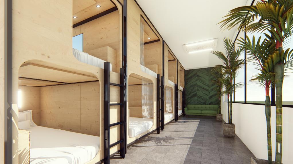 Green Marmot Capsule Hostel Best Hostel in Zurich