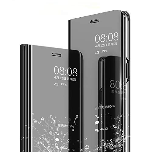 Jotech® Mirror S-View Stand Flip Cover - best cover for oneplus 8 pro
