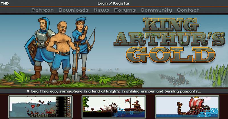 King Arthur's Gold Best Game Like Minecraft