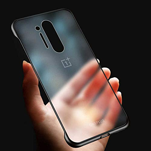LOXXO Ultra Thin Frameless Matte Hard Shockproof Case - best cover for oneplus 8 pro