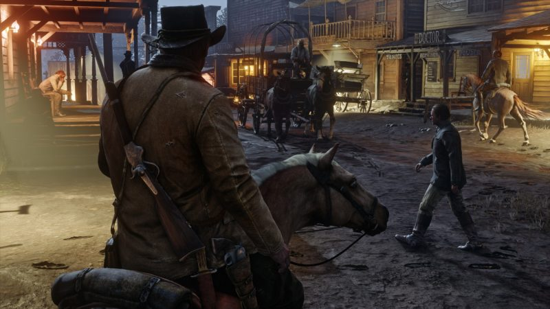 Red Dead Redemption 2 Best Game Like The Witcher 3