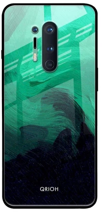 Scarlet Amber Glass Case - best cover for oneplus 8 pro