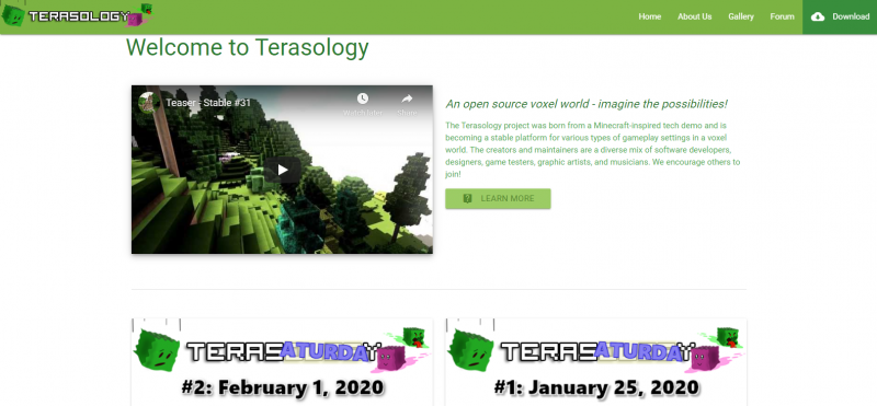 Terasology Best Game Like Roblox