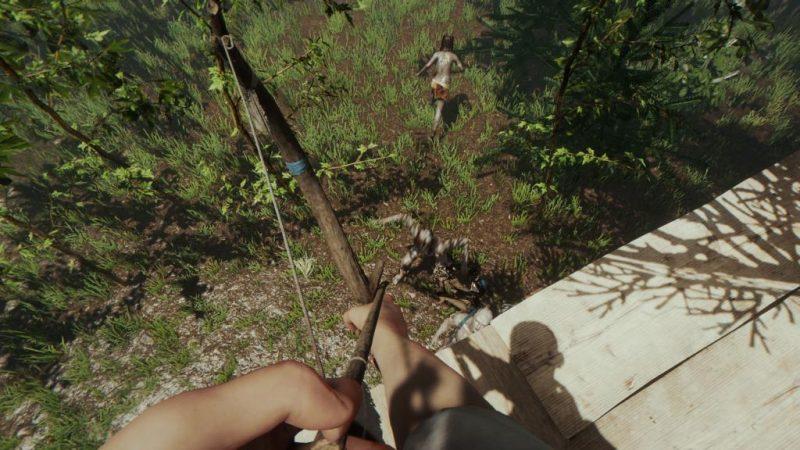 The Forest En İyi Oyun Gibi Ark