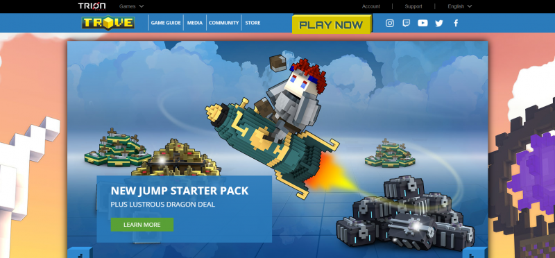 Trove Best Game Like Roblox