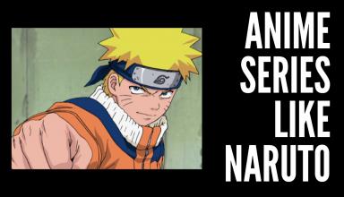 Anime Series Like Naruto