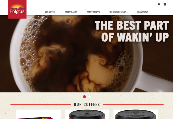 Folgers Best coffee brands in USA
