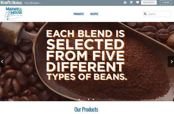 Maxwell House Best coffee brands in USA