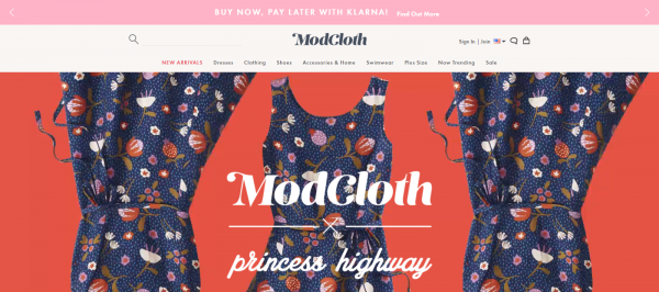 Modcloth: Store Like Anthropologie